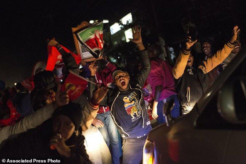 2017年肯亞總統大選結果出爐。(AP)