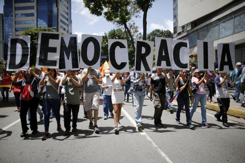 美國不排除出兵委內瑞拉:委內瑞拉總統馬杜洛成立制憲大會被視為擴權走向獨裁(AP)