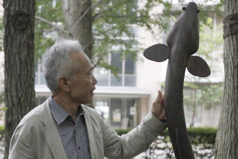日本「鰻魚博士」塚本勝巳。(美聯社)