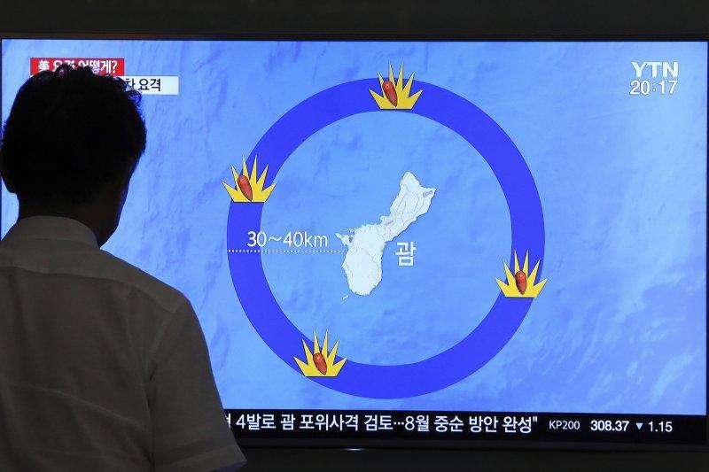 北韓打關島:美國國防部長馬提斯及參謀首長會議主席鄧福德都警告,北韓會付出代價(AP)