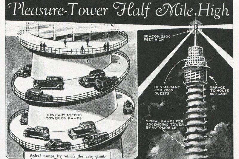 幸好這五個建築沒有建成,不知道這些異想天開的想法到底是哪裡來的…(圖/Outside提供)