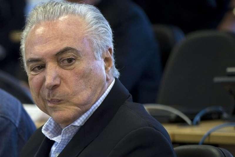 巴西總統特梅爾欲強硬通過雨林開發案,遭法院擋下。(美聯社)