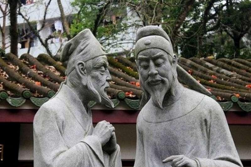 韓愈與柳宗元都是那個時代推動「古文」運動的大家。
