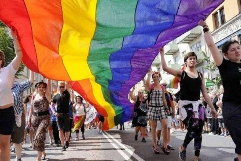 12個已經實施同婚合法化國家的駐台代表處共同發表宣言,以各國實例指出,同婚合法化反而使得社會變得更加開放和寬容。(資料照,美聯社)