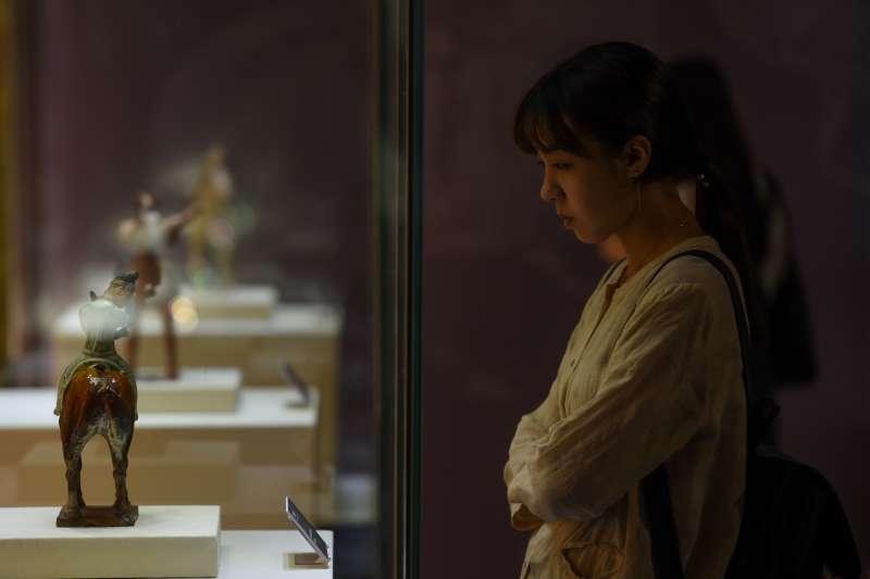 「動.境──中華古代體育文物展」在天津展出(新華社)