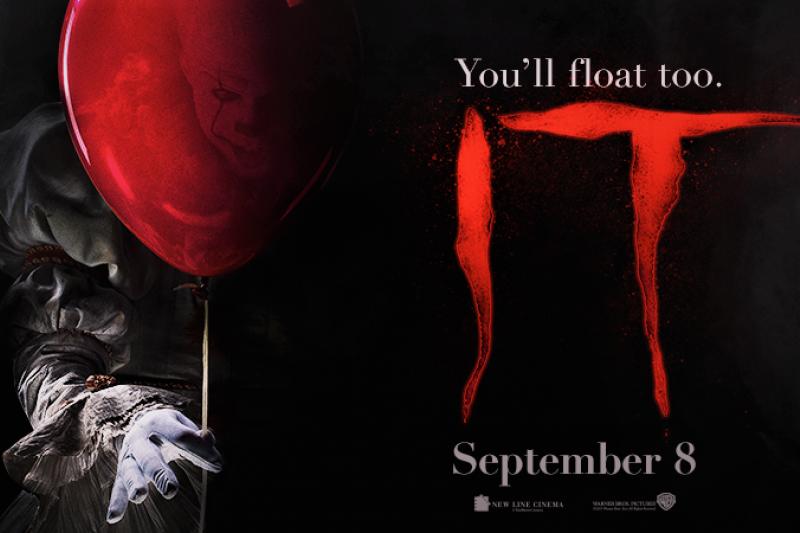 《牠》甫上映就開出票房爆紅盤,與多部經典恐怖片並列,刷新影史多項紀錄。(圖/取自IT Movie臉書粉專)