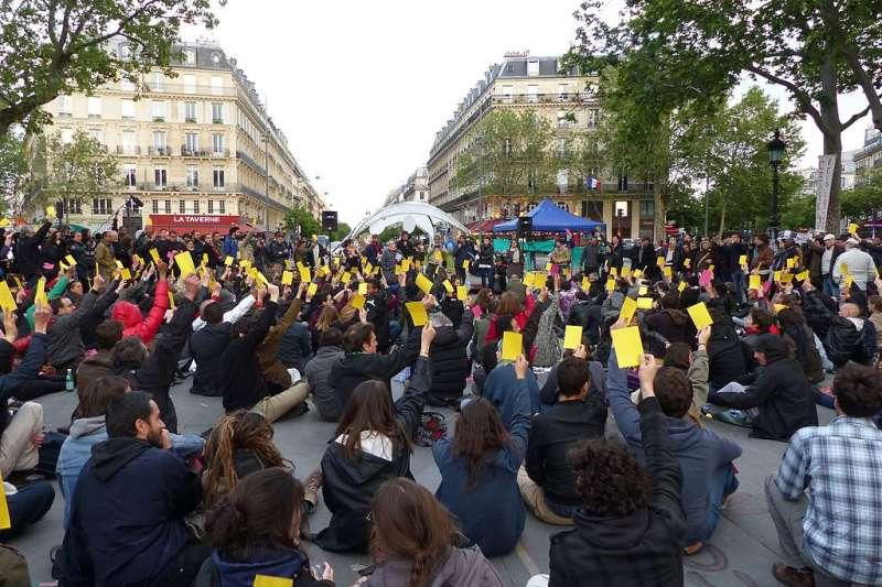 改造後的巴黎共和國廣場,民眾可在此集會。(Elekes Andor @ Wikipedia / CC BY-SA 4.0)