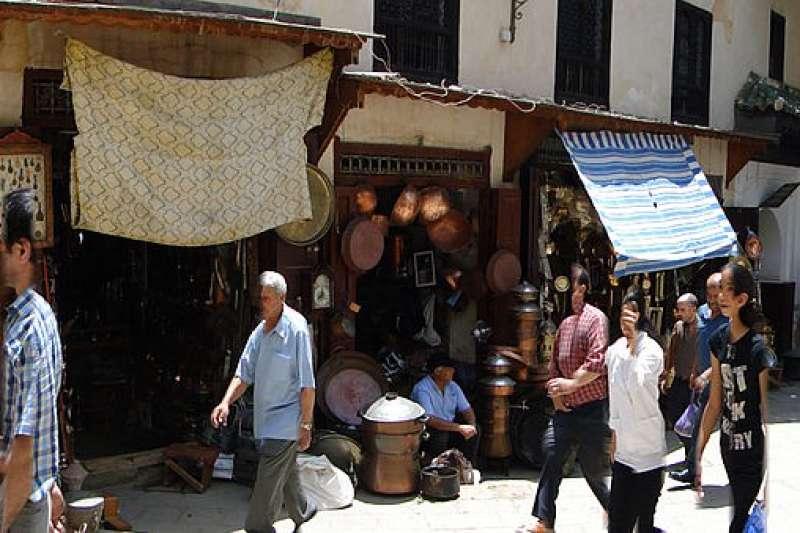 摩洛哥費茲舊城區。(Adam Jones @ Wikipedia / CC BY-SA 3.0)