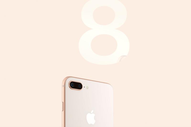 iPhone 8。(蘋果官網)