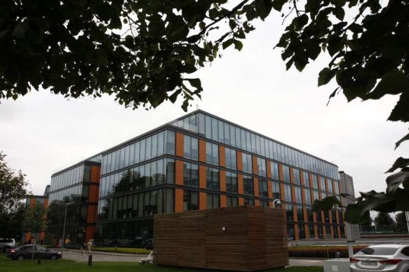 卡巴斯基實驗室在莫斯科的總部。(美國之音)