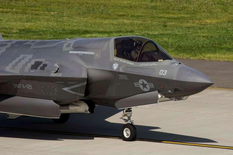 美軍駐日的F-35。(美軍太平洋司令部臉書)