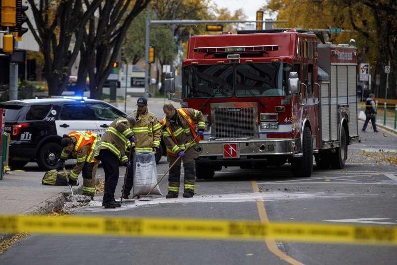 加拿大埃德蒙頓9月30日發生孤狼式恐攻。(美聯社)