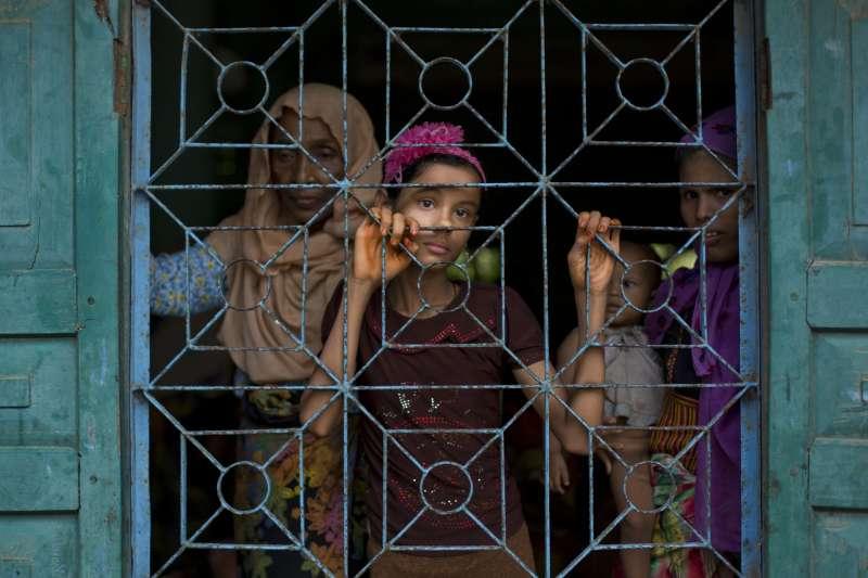 羅興亞人在緬甸翁山蘇姬政權下飽受歧視壓迫殘害(資料照,AP)
