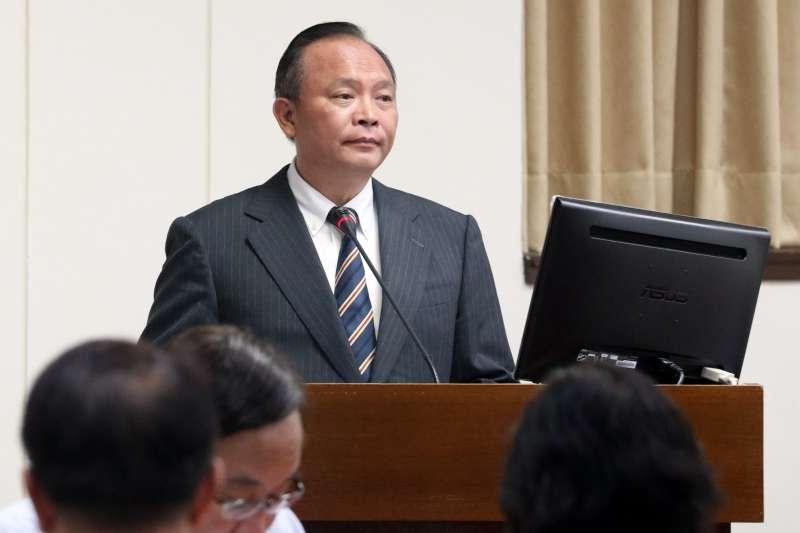 20171012-立法院經濟委員會,農委會主委林聰賢。(蘇仲泓攝)