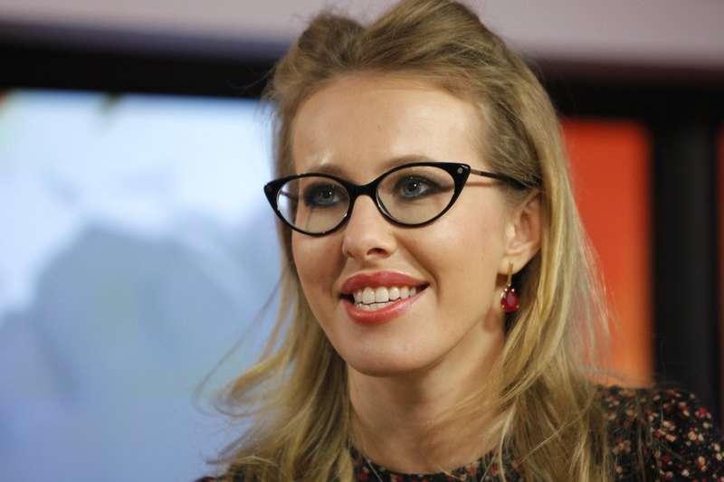 有「俄版芭莉絲.希爾頓」之稱的社交名媛蘇布查克( Ksenia Sobchak)宣布參加俄國明年的總統大選。(美聯社)