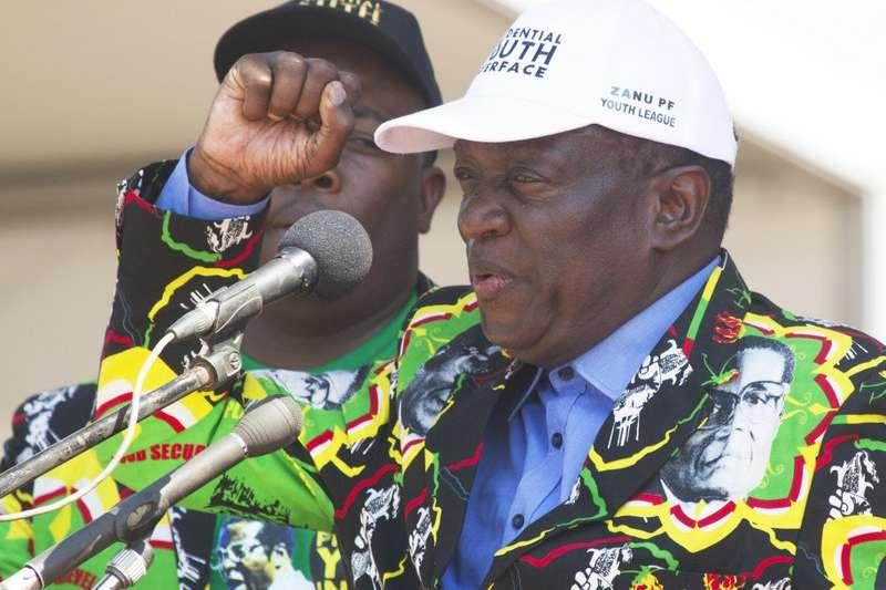 辛巴威副總統姆南加古瓦(Emmerson Mnangagwa),6日遭到總統穆加比開除。(美聯社)