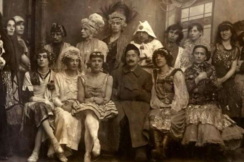 1921一月,彼得格勒舉辦了一場「同志」婚禮。(BBC中文網)