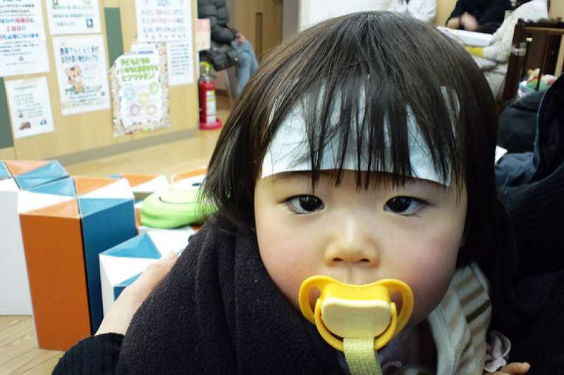 「希普利敏液」是小孩感冒的常用藥物,因口感佳小孩的接受度高。(圖/MIKIYoshihito@flickr)