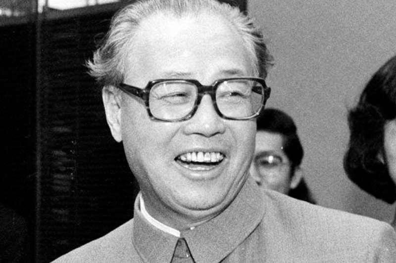 中國前領導人趙紫陽,攝於1984年1月11日(AP)