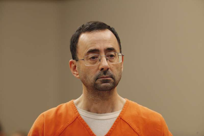 美國國家女子體操隊前任隊醫納薩爾(Larry Nassar)犯下多起性侵案(AP)