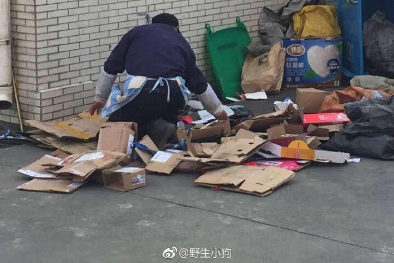 北京市政府以掃蕩違建為名,同時清理所謂的低端人口。(翻攝微博)
