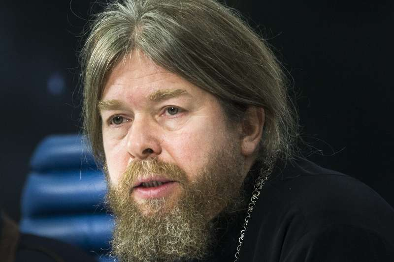 俄罗斯东正教主教舍夫库诺夫(Tikhon Shevkunov)。(美联社)