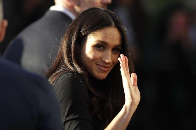 英國哈利王子的未婚妻梅根.馬克爾(AP)