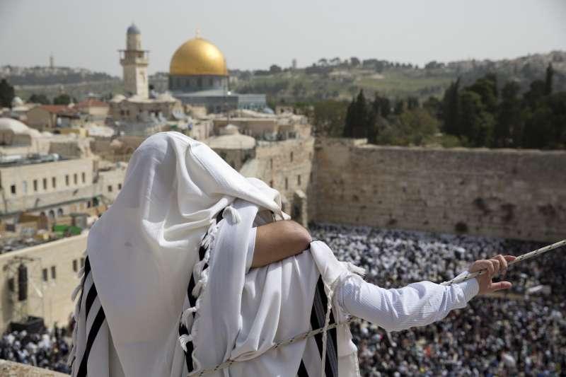 耶路撒冷的舊城區。(美聯社)