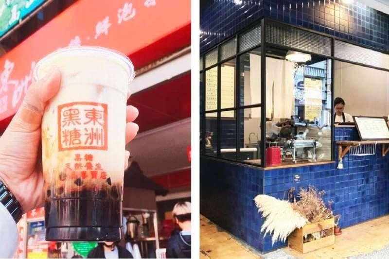 台南這幾家飲料店,你喝過幾間?(圖/左取自tina81526@Instagram,右取自chihtseng@Instagram)