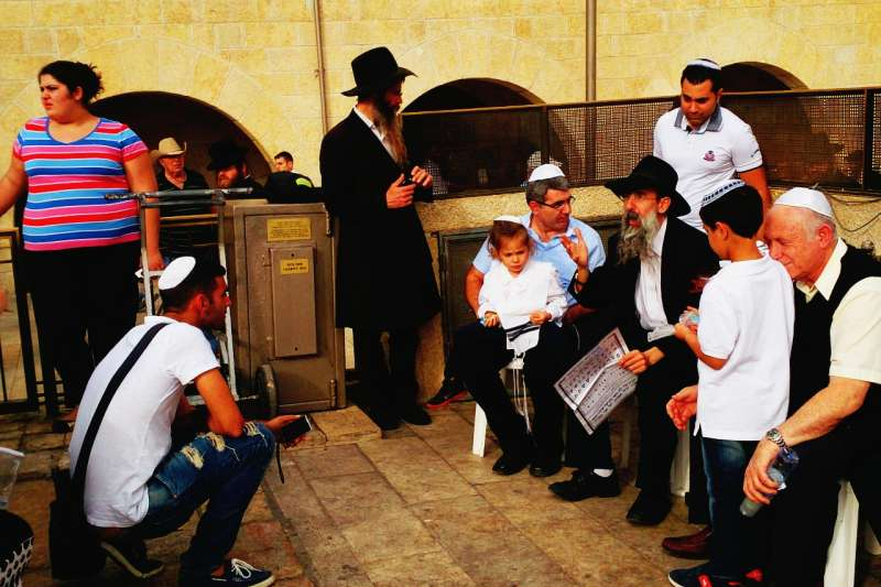 耶路撒冷的問題是各種爭議交融的。有宗教因素、有歷史鳩葛、有生存空間的擠壓,亦有意識形態的衝突。(攝影:中東流浪者)