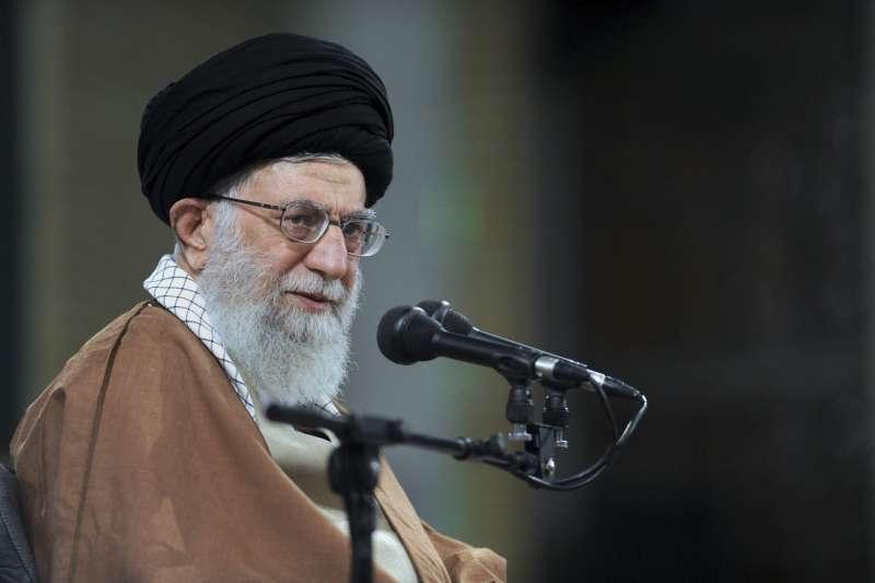 美國承認耶路撒冷為以色列首都,伊朗最高領袖哈米尼譴責美國是戰爭製造者(AP)