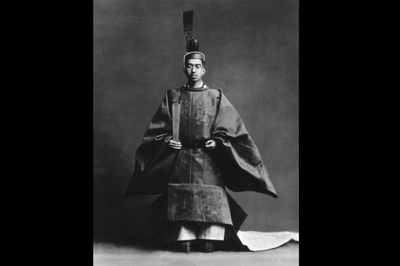 昭和天皇。(維基百科/公用領域)