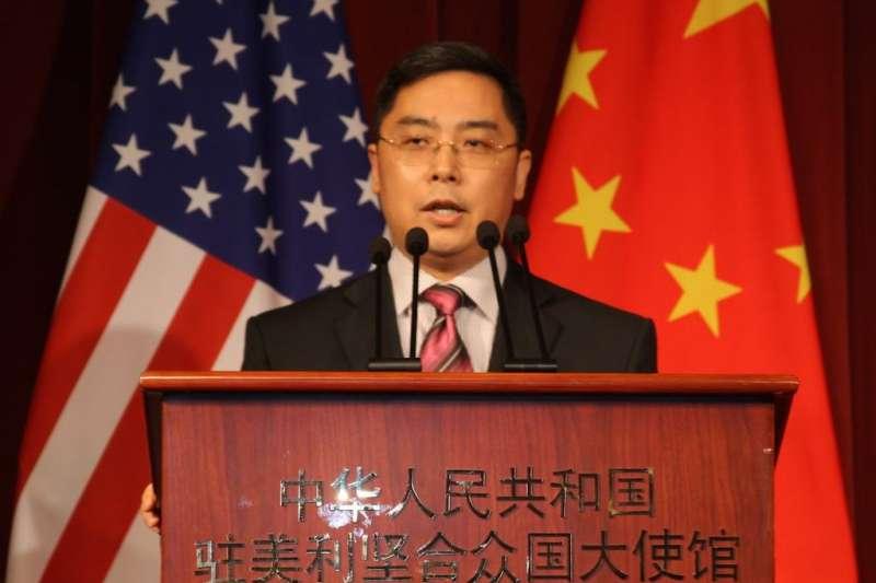 中國駐美公使李克新日前表示,美國軍艦抵達高雄之日,「就是解放軍武力統一台灣之時」。(資料照,取自網路)