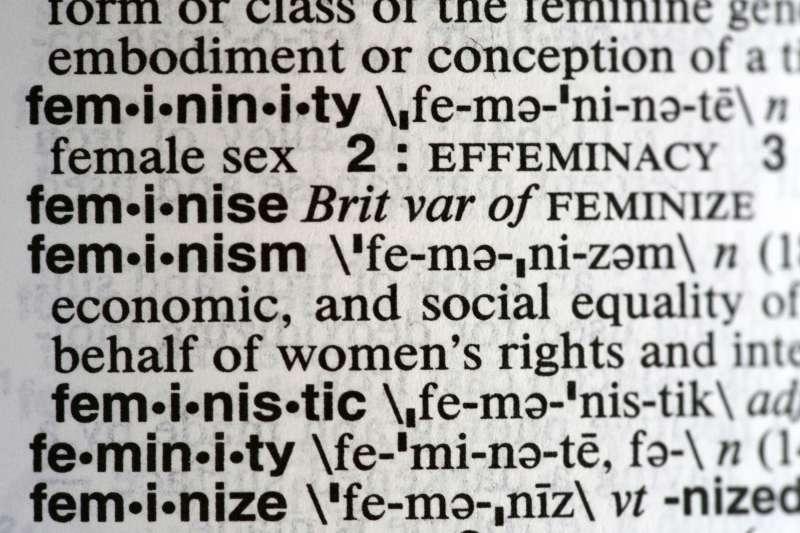 《韋氏字典》2017年度字彙:女性主義(AP)