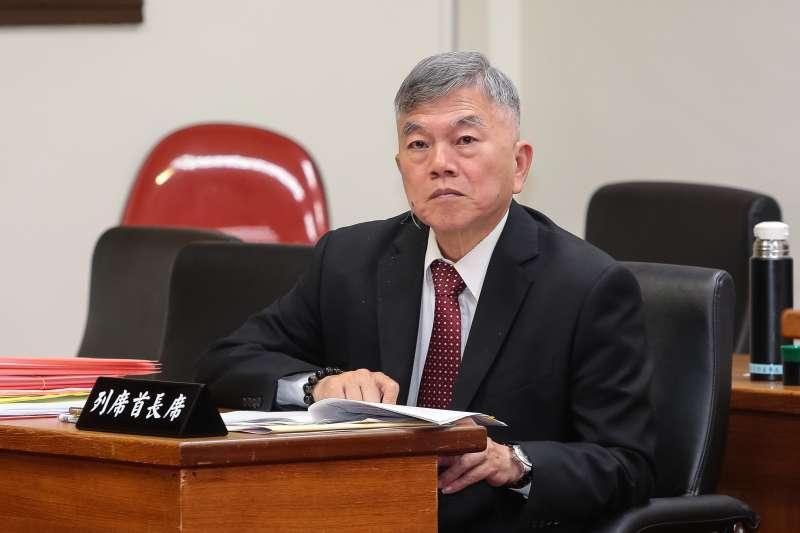20171214-經濟部長沈榮津14日於經濟委員會備詢。(顏麟宇攝)