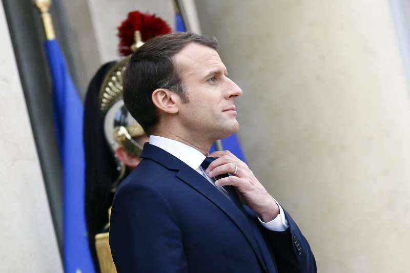法國總統馬克宏(Emmanuel Macron)(AP)