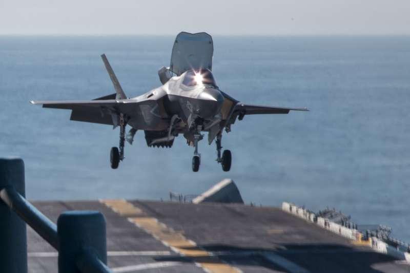 F-35B。(美國海軍官網)
