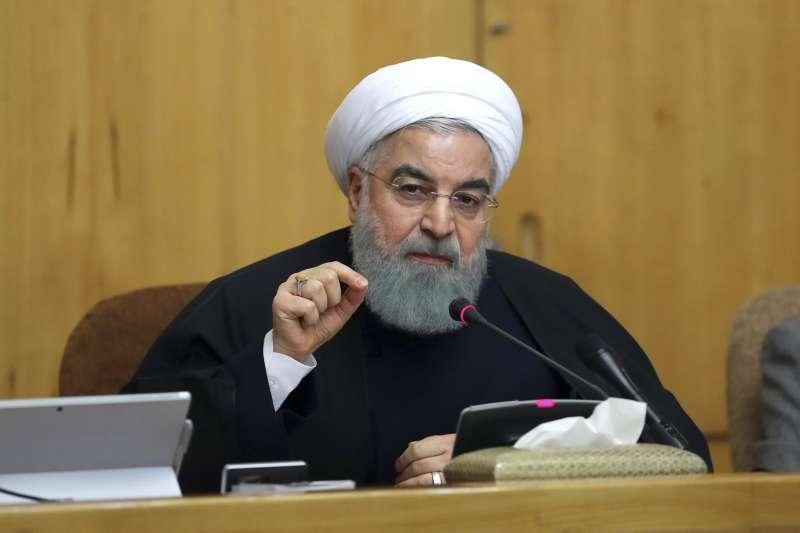 伊朗總統魯哈尼呼籲示威群眾冷靜(AP)