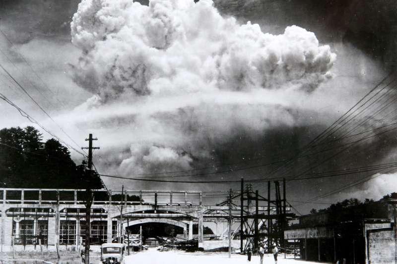 1945年8月9日,長崎原爆(Wikipedia / Public Domain)