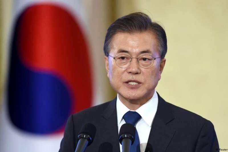 2018年新年:文在寅稱北韓不挑釁,韓美或推遲軍演。(德國之聲)