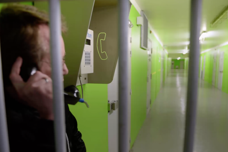 法國監獄的內部狀況。