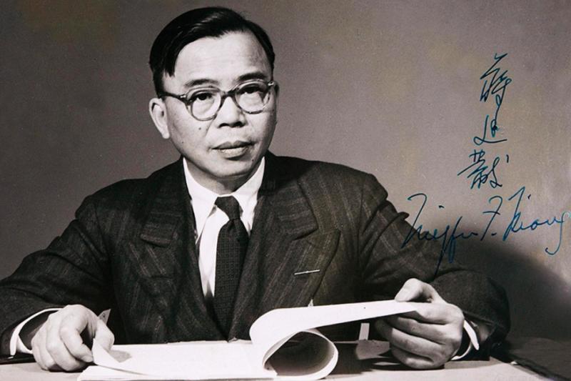 前中華民國駐聯合國大使蔣廷黻。(取自網路)