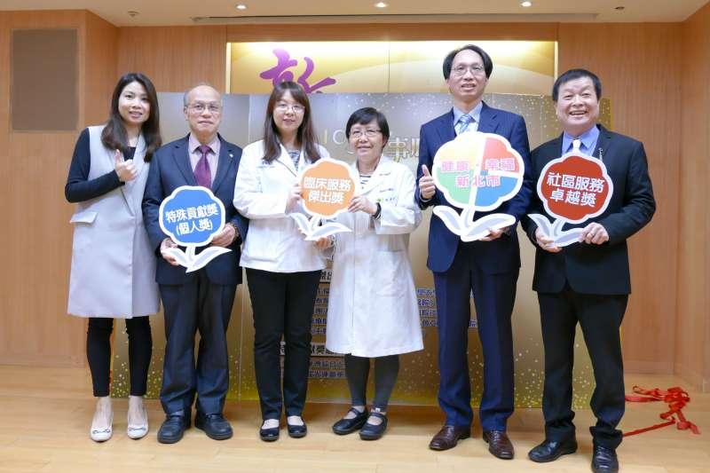 新北市衛生局舉辦「藥事服務獎」選拔,以表彰熱心公益、專業信賴的正面多元形象。(圖/新北市衛生局提供)