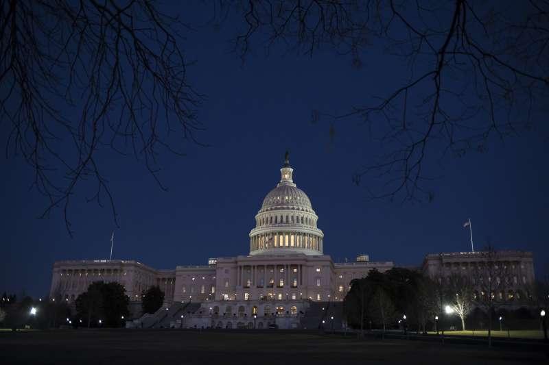 2017年1月19日,美國聯邦政府預算案在國會卡關,多個政府機構被迫從20日起關門(AP)