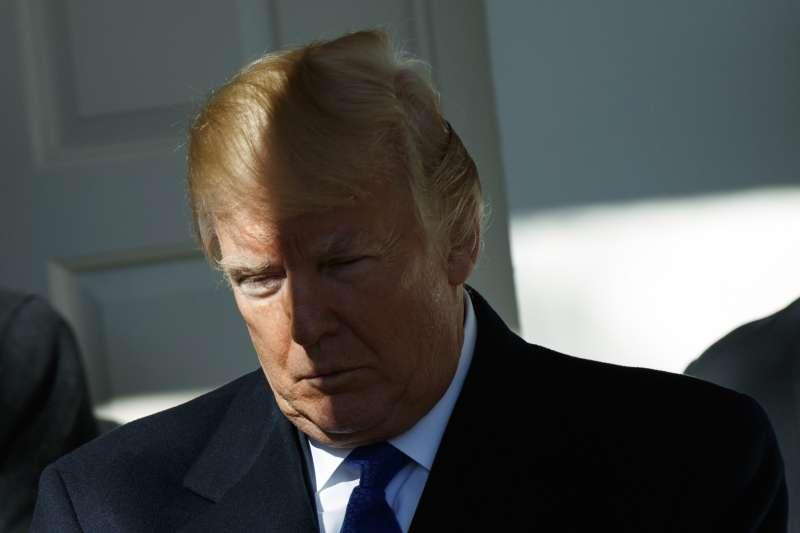 美國總統川普上任一年,諸事不順(AP)