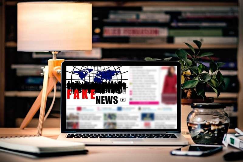 網路上假新聞氾濫,法國民眾更加信任傳統媒體。(pixabay)