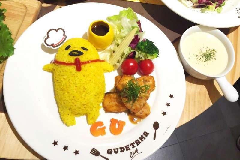 又可愛又好吃的卡通主題餐廳,錯過實在可惜?。▓D/Gudetama Chef-蛋黃哥五星主廚餐廳@Facebook)