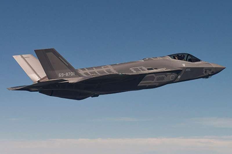F-35A。(航空自衛隊官網)