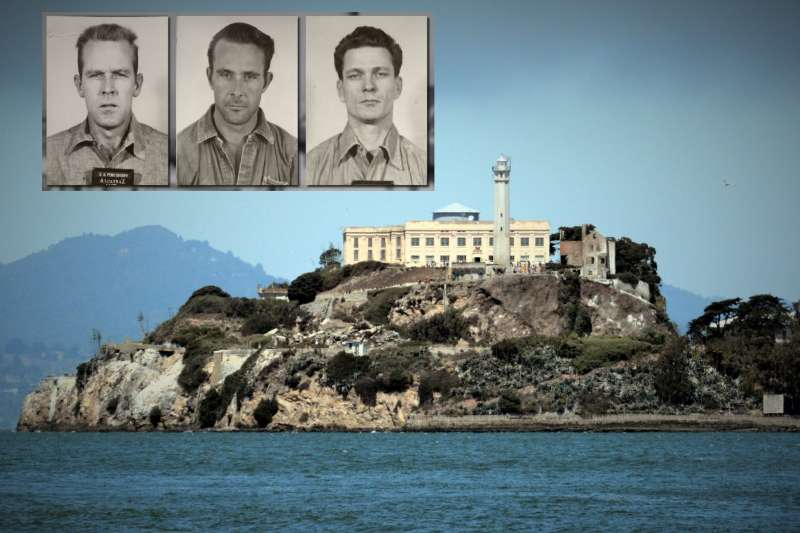 上世紀美國舊金山有一座著名關押重刑犯的「惡魔島」監獄,地勢險惡、鯊魚圍繞,但有3名囚犯卻離奇的逃出,震驚全球?。▓D/取自youtube)