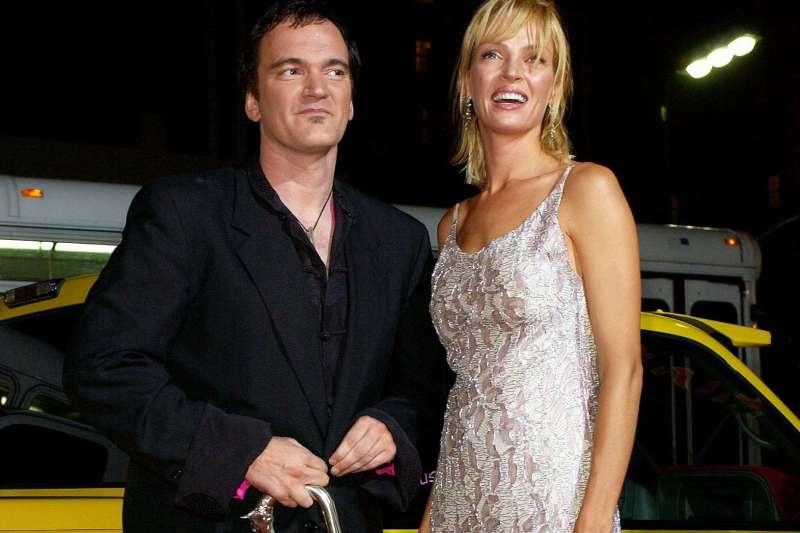 美國知名女星鄔瑪舒曼指控導演昆汀塔倫提諾強逼她在戲中駕駛有問題的車,害她差點喪命。(美聯社)